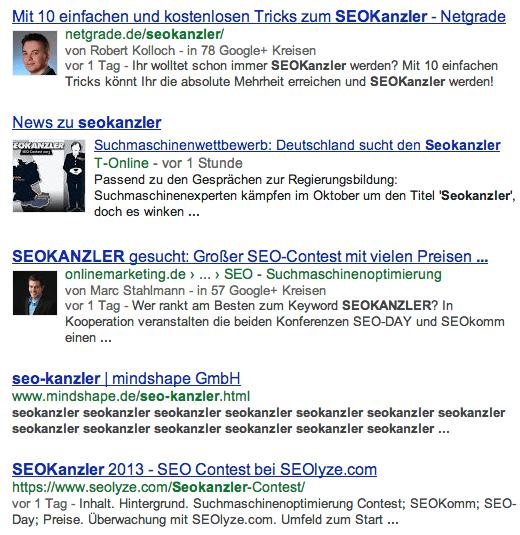 google.at seokanzler